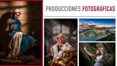 Aprende a realizar producciones fotográficas
